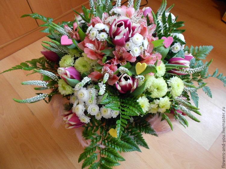 Фото живых цветов для букетов